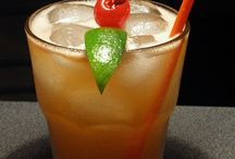 Exotic Drinks at Hing's Chinese Restaurant / Exotic Drinks: 18 Items including.... Mai Tai, Doctor Funk,