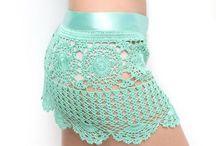 beach skirt crochet
