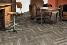 Wooden Effect Flooring / Inspiration for your home or commercial space. Have the best of both worlds; practical tiles, that look like wood.
