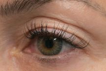 Eyelash Extensions / Check out some of our eyelash extension work! We offer a variety of packages, visit lovesomelashes.com to learn more!