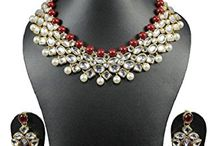 Kundan Women Wedding Necklace Set