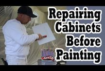 Kitchen Cabinet Painting Hacks / by The Idaho Painter