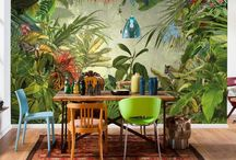 Glam Tropical Rainforest Decor
