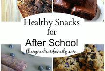 Yummy healthy snacks