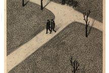 Illustration - aerial views