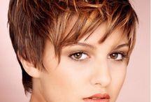cores e cortes cabelo curto