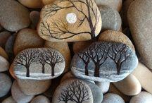 sassi decorati