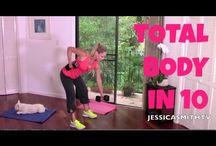 Workout Vids *Jessica Smith* / https://www.youtube.com/user/jessicasmithtv/featured