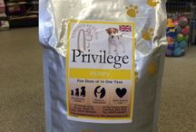 Privilege Pet Food / We are proud to have launched our own range of Premium pet food, Privilege. Please see our website for more information www.aaronspets.co.uk