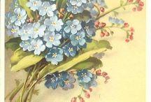 Çiçekler - Painting flowers / Sanatın verdiği huzur-Peace given by the Arts