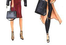 •drawing fashion•
