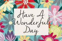 Good day & Good weekend