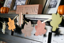 Holidays - Thanksgiving / DIY, crafts and party ideas for Thanksgiving.