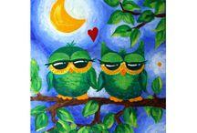 owls / by Bev Slaunwhite