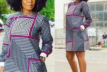 afrikan vaatteet