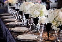 Chanel meets Gatsby / This bride loves vintage romance, but she's not talking about burlap! Gatsby and Chanel influences for this 20s/30s elegant wedding in Northwest Arkansas. October 2014 wedding