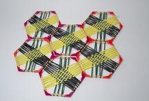 triaxial weaved hexagon