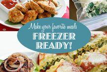 Freezer ready meals