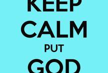 I love my god