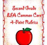 2nd Grade Rubrics / by Buysellteach