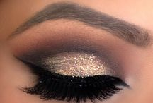 make eyeshadow