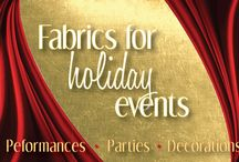 Event Fabrics / Fabrics are a great way to decorate your space. The possibilities are endless!