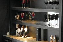 Bar En Casa Moderno