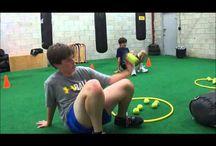 Aktiviteter i gymsal