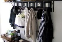 Dream Home: Entryways / Ideas for the Entrance to the Home: how to Welcome & Functionality & doorways in general