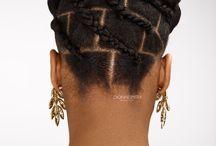 blocks hair