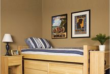 Dorm Room Furniture / From loft beds to storage to cool dorm seating, check out DormSmart.com's furniture favorites!