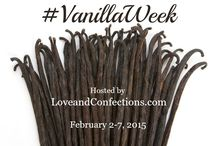 #VanillaWeek / We are celebrating our love of Vanilla in all things sweet and savory, from breakfast to dinner, dessert and anything in between.