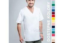 Bluzy medyczne męskie / Bluzy dla lekarzy, pielęgniarzy i farmaceutów.  Sprzedawane przez nas ubrania są nie tylko praktyczne, ale eleganckie i wygodne. Moda szpitalna.