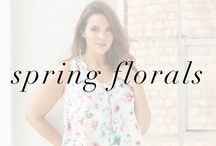 Spring Florals Lookbook / Pick the freshest fashion finds and blooms in style for spring!