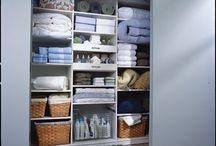 Organized Linen Closet / by Wendy Dahl