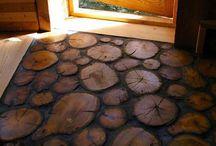 Cabane lemn design