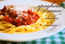 Recipes   Italian / Food of Italian origins (?), pasta, pizza... / by Lamenting Seraph