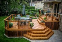 Wooden decking ideas