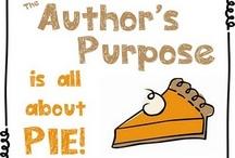 Teaching Reading- Author's Purpose