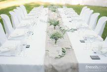 LORENZ Juliette / Décoration de table de mariage