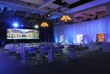 Meeting & Event Production Inspiration / This board is a collection of photos/websites that show how lighting and staging elevates the mood and experience for any event.