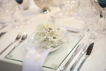 Decor and Reception Ideas We Love / The team who work at The Wedding Expo love the beautiful designs and arrangements that brides-to-be choose for their special day. See what we love.........