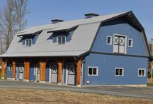 Completed Barns