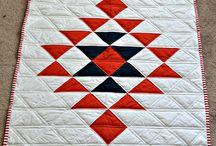 modern aztec quilt
