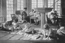 child development / including montessori, Waldorf, reggio, etc