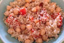 Food veg / Ceci/ Quinoa/peperoni