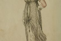 Fashion plates: 1810s / Fashion plates from the 1810s.