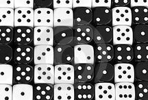 Dice - Cubes - Checkers / Small, big, ancient, modern, weird and classic checkers, dice and other cube related images and photos.