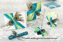 Wedding Sets  / Guestbooks , Ring Cushions, Flower Baskets, Pen & Pen Holders, Garters..