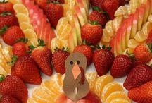 Fruit platters/Appetisers